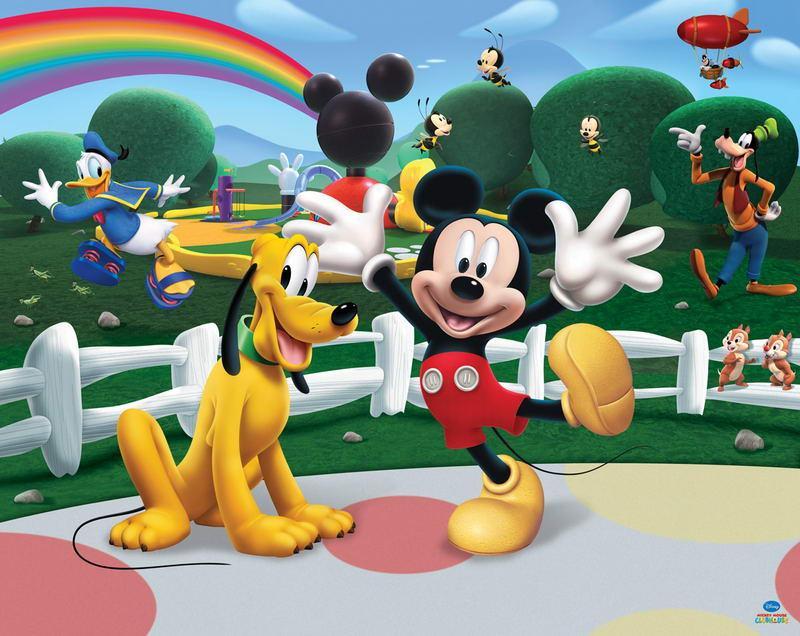 Walltastic Fototapet Disney Mickey Mouse Clubhouse