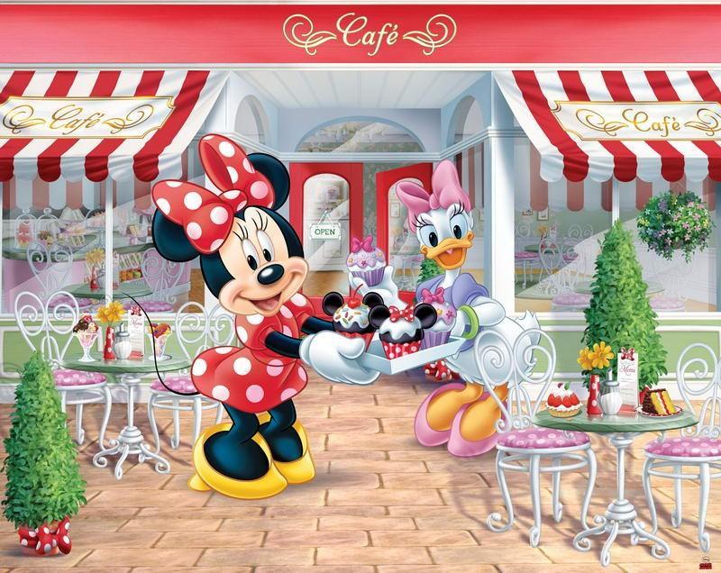 Walltastic Fototapet Disney Minnie Mouse