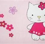 MyKids Lenjerie Mykids Kitty Roz 4 Piese 120X60