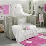 Kidboo Set Lenjerie Pat Copii Cute Bear Pink