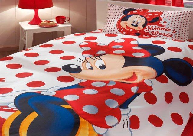 Set Lenjerie Pat Copii Minnie Mouse