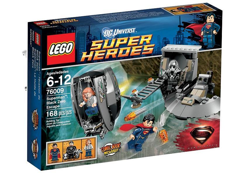 LEGO Superman Eliberarea de Black Zero (76009)