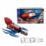 SPIDERMAN Spiderman super lansator cu masinuta