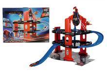 Majorette Spiderman Garaj 66X73x45 Cm + 1 Elicopter