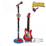ReigMusicales Set chitara si microfon Spiderman 552