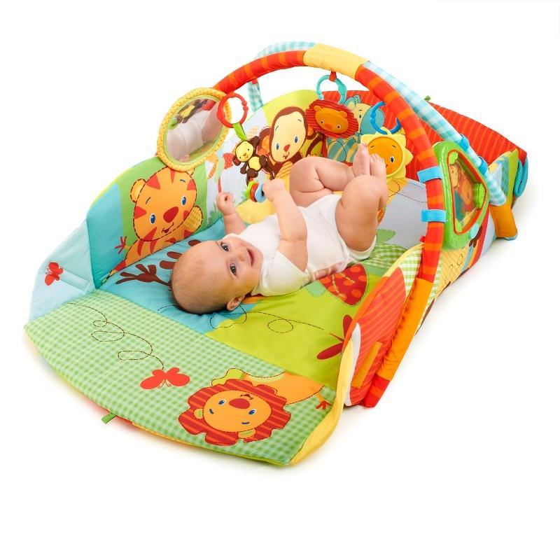 Bright Starts Bright Starts – Salteluta interactiva Swingin' Safari Baby's Play Place