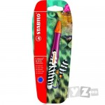Stabilo Roller 'S Move BE WILD 0.5mm portocaliu/berry blister