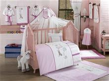Kidboo Set Lenjerie Pat Copii Little Farmer Pink