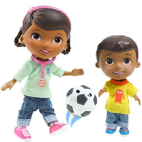 Disney Figurine Doc and Donny Playtime