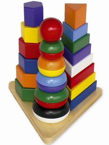 Legler Legler – Piramida Montessori 3 in 1