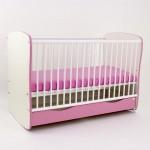 Bebe Design Bebe Design – Patut cu sertar si leganare color Clasic Confort