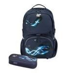 Herlitz Rucsac Be.Bag ergonomic + penar Cube Swing Bundle