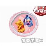 Stor Farfurie Bebe Winnie the Pooh Roz-new
