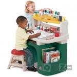 Step2 Măsuţă birou pentru copii Art Master Activity Desk – Verde 885800