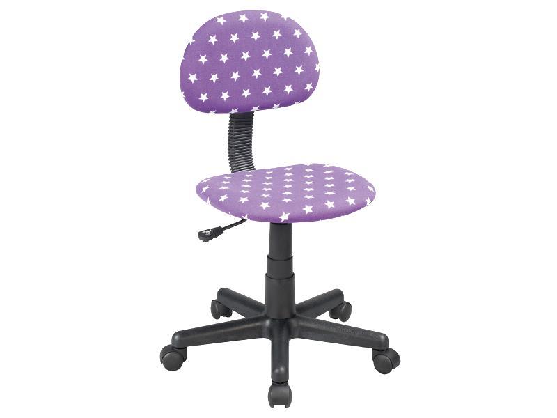 Scaun de birou pentru copii Q-048 mov