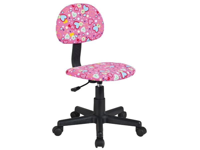Scaun de birou pentru copii Q-048 roz
