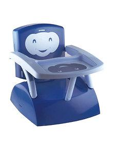 Thermobaby France Thermobaby France – Booster seat 2 in 1 scaunel atasabil la masa + scaunel de joaca pentru copil cu masuta detasabila blue/dark blue