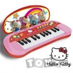 ReigMusicales Pian cu figurine Hello Kitty 1492