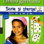 Scrie si sterge – Limba germana nivelul 1 modulul 1