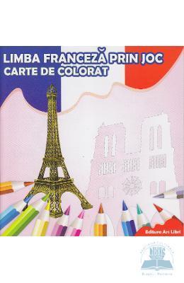 Limba franceza prin joc – Carte de colorat