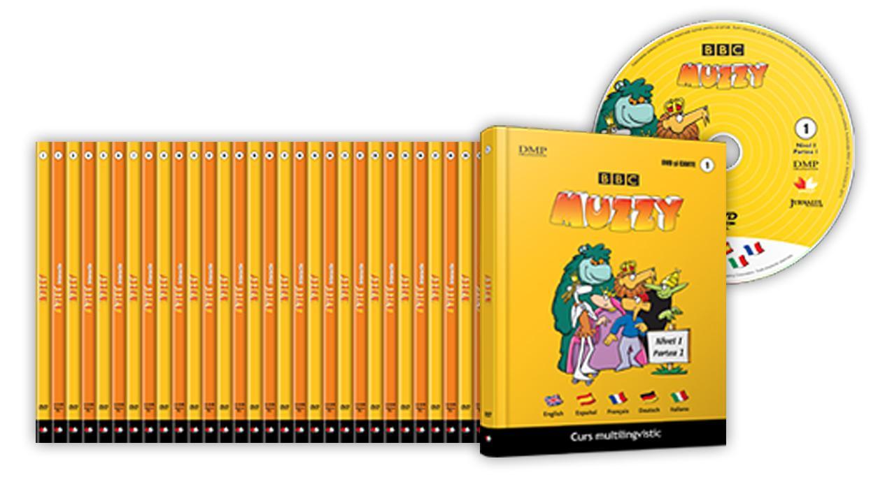 Litera Set Muzzy (24 volume + 12 CD + 12 DVD)