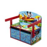 Delta Children Mobilier 2 in 1 depozitare jucarii Disney Mickey Mouse