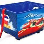 Delta Children Cutie Cu Roti Pentru Depozitare Jucarii Disney Cars