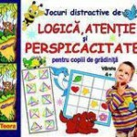 Teora Jocuri distractive de logica atentie si perspicacitate pentru copiii de gradinita varsta 4+