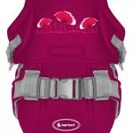 BERTONI Bertoni Marsupiu multifunctional Traveller Comfort Red Poppies