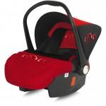 "BERTONI Bertoni Cosulet auto ""Lifesaver"" Black & Red poppies (0-13 kg.)"