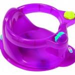 TIGEX Tigex Scaun pentru baie Anatomy, cu inel – Mov