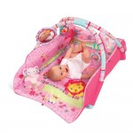 Bright Starts Bright Starts Salteluta interactiva Pretty In Pink Baby's Play Place Deluxe Edition