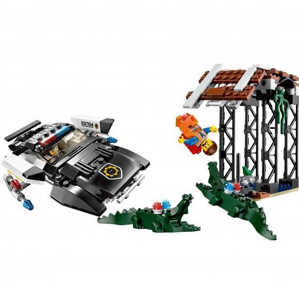 LEGO LEGO MOVIE – Urmarirea lui Bad Cop (70802)