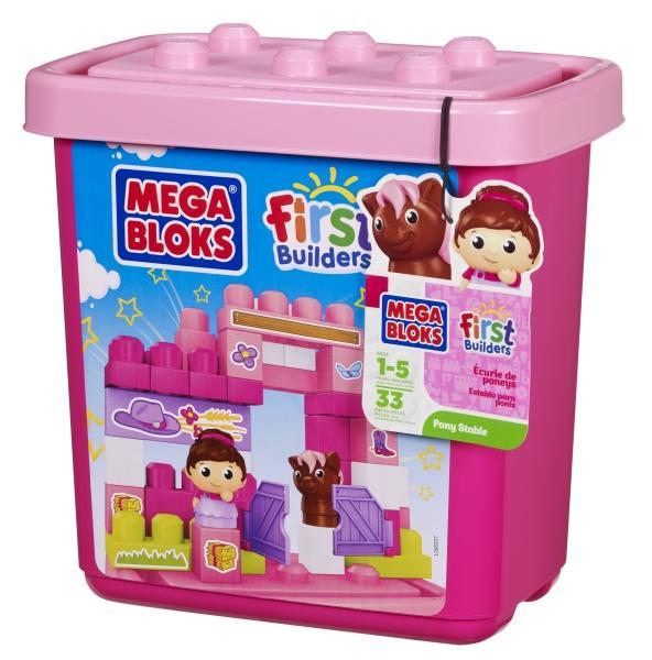 MEGABLOCKS Mega Bloks – Cutie cu Cuburi de Constructie (mic)