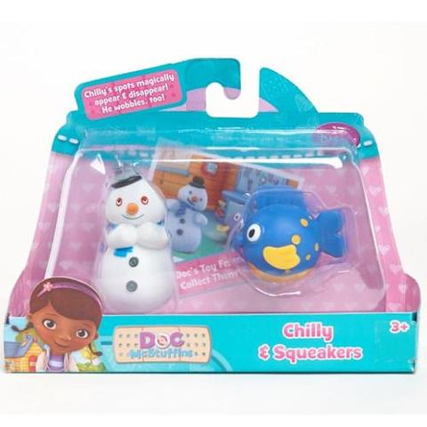 Disney Figurine Doctorita Plusica Chilly si Squeakers