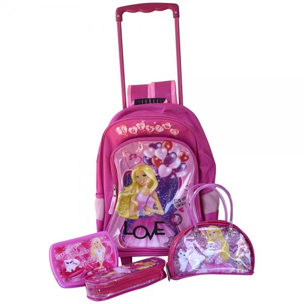 Barbie Barbie – Trolley (set echipat)