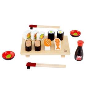 Hape Jucarie eco din lemn Set de facut Sushi Hape