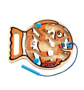Hape Jucarie eco Labirint Magnetic Go-Fish-Go Hape