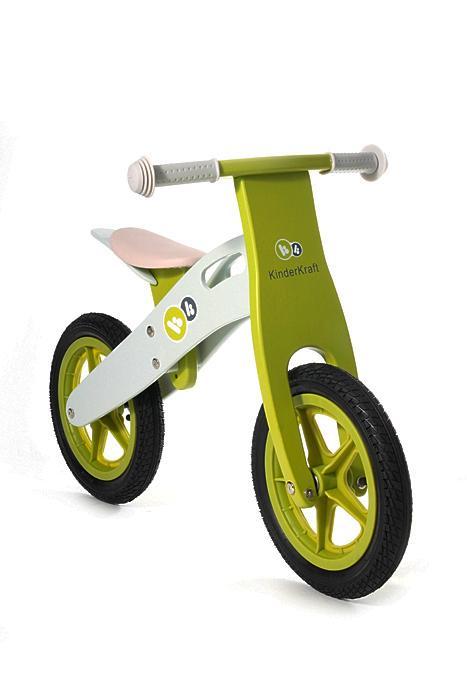 KinderKraft KinderKraft – Bicicleta din lemn fara pedale Runner Deluxe