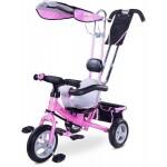 Caretero Toyz – Tricicleta cu maner si roti gonflabile Derby 2014