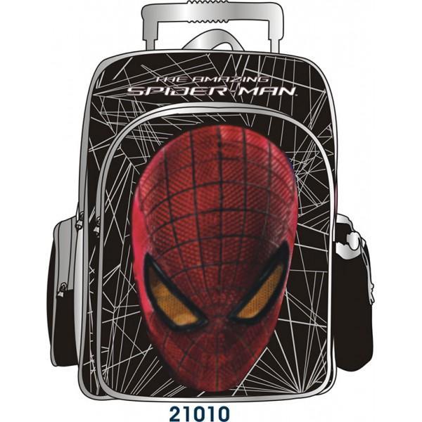 BTS Ghiozdan Troler Spiderman Metal Power