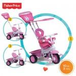 Fisher-Price Fisher-Price – Tricicleta 3 in 1 Elite Roz