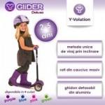 Yvolution Trotineta Glider Deluxe Purple Yvolution