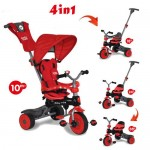 Baby Trike Baby Trike Tricicleta 4 in 1 Crab Red