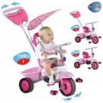 Smart Trike Tricicleta Smart Trike Fresh Pink/White