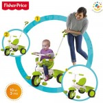 Fisher-Price Tricicleta 3 in 1 Classic Verde