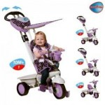 Smart Trike Tricicleta Smart Trike Dream Purple 4in1
