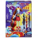 My Little Pony My Little Pony Equestria Girls – Papusa Rainbow Dash Hairstyling