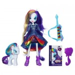Hasbro My Little Pony Set Equestria Girls Rarity Doll cu Ponei