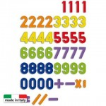 QUERCETTI Kit 48 cifre magnetice